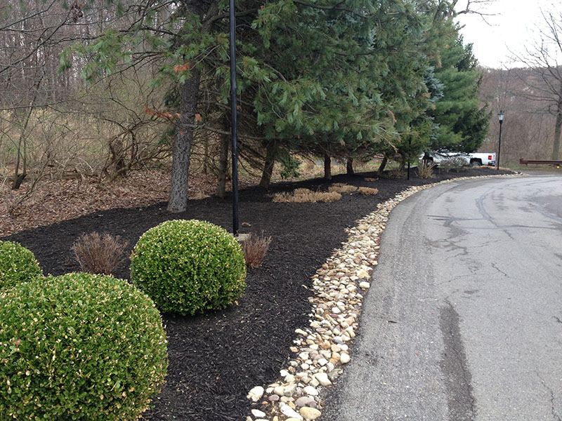 Landscape Edging Pittsburgh : Preston lawnscapes in pine richland